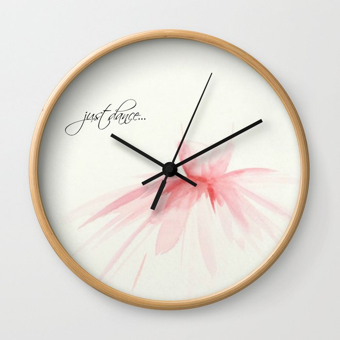 Just Dance Wall Clock By Paintedapron Society6