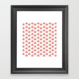 AFE Watermelon Pattern 2 Framed Art Print
