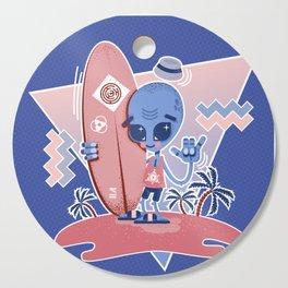 Alien Surf - Serenity & Rose Quartz Cutting Board