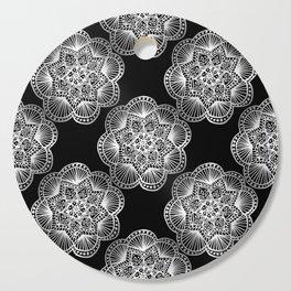 Tangled Mandala Pattern Cutting Board