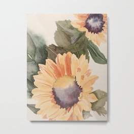 Happy Days  (sunflower) Metal Print