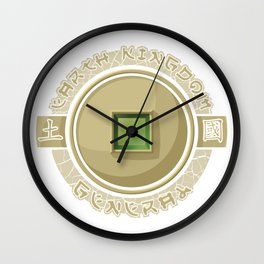 Earth Kingdom General Wall Clock