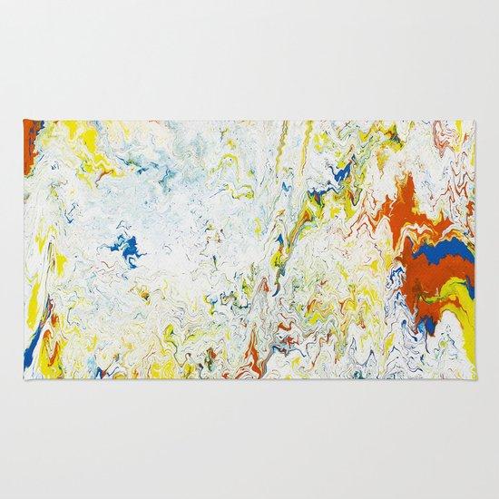 Gravity Painting 24 Rug