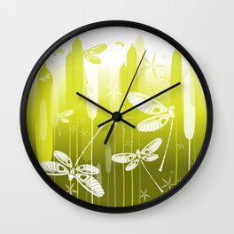 CN DRAGONFLY 1018 Wall Clock