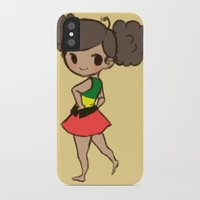 jamaica iPhone & iPod Cases featuring Jamaica 2 by Cat in the Box