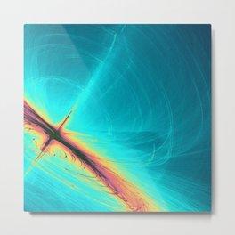 Wavelength Metal Print