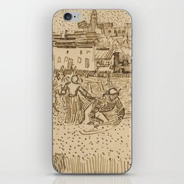 Arles: View from the Wheatfields iPhone Skin