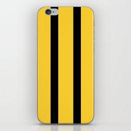 Bruce Bee Bumble Lee Stripes iPhone Skin