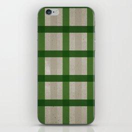 Evergreen Cozy Cabin Plaid iPhone Skin