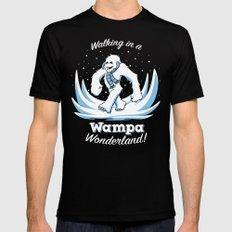 Walking in a Wampa Wonderland MEDIUM Mens Fitted Tee Black