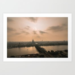 Cologne, Germany Art Print