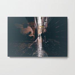 Panda Alley. Metal Print
