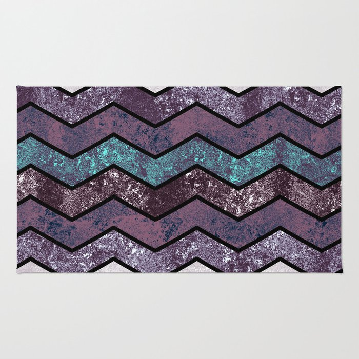 Glitter Waves IV Rug