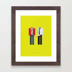 Fight Club | Famous Costumes Framed Art Print