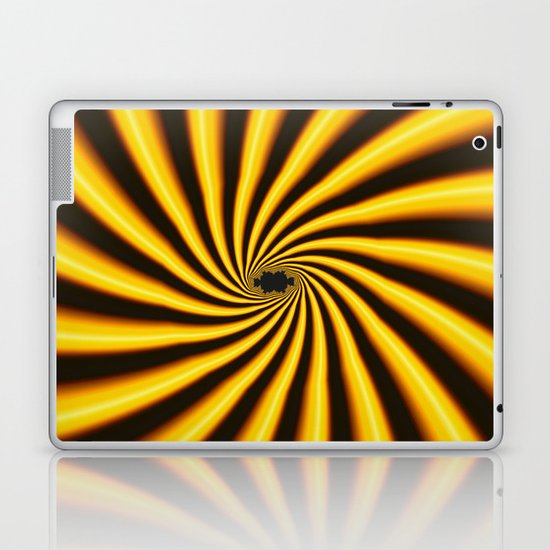 Twisted Sunshine Laptop & iPad Skin
