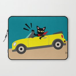Whim in the car Laptop Sleeve