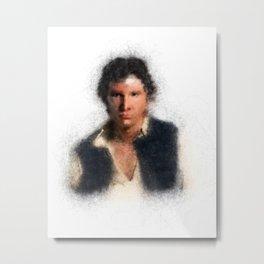 Han/Solo Metal Print