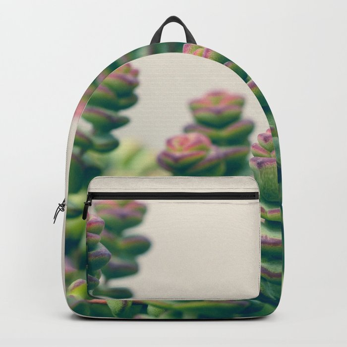 Pretty Little Succulents Backpack