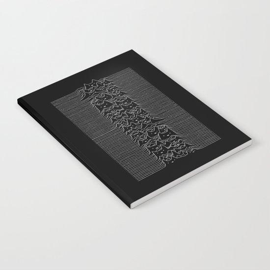 Joy Division Unknown Pleasures Notebook