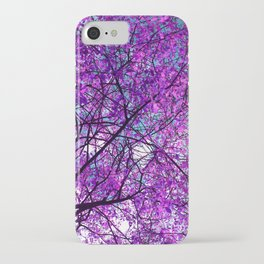 purple tree III iPhone Case