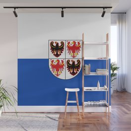 flag of Trentino Wall Mural