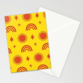 Sunny Boogie Stationery Cards