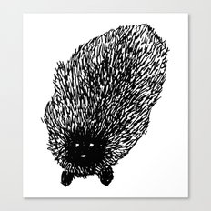 Fuzzy Animal Canvas Print