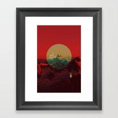 Yama Framed Art Print