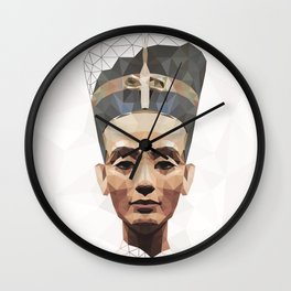 Nefertiti L Wall Clock