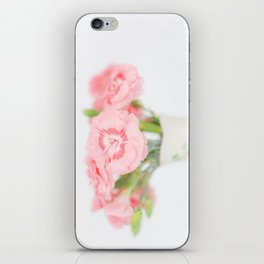 Pink Carnations 2 iPhone Skin