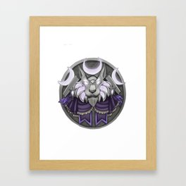 Light crest Framed Art Print