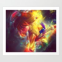 It's almost time for a shoot out Art Print