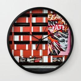 Fear No Fate (Las Vegas) Wall Clock