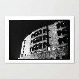 Folding Building Canvas Print