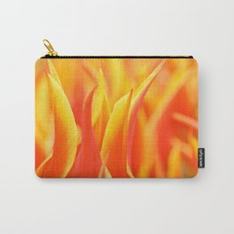 Yellow-red tulips Carry-All Pouch