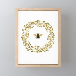 The Bee Framed Mini Art Print