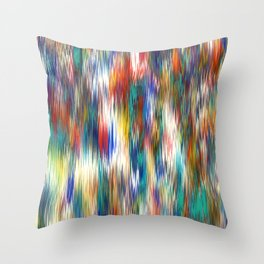 line wind Throw Pillow
