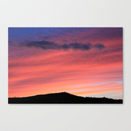 Rich Sky Canvas Print