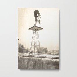 Wonder Windmill Metal Print