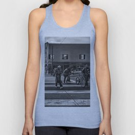 Going nowhere Unisex Tank Top