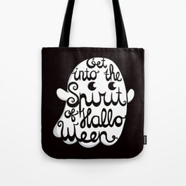 Cute Ghost - Get into the Spirit of Halloween Tote Bag