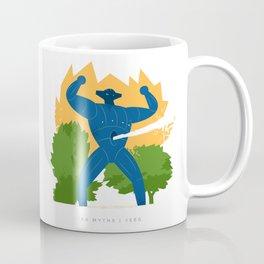 Jeeg attack Coffee Mug