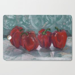 Red Bell Peppers, Paprika Pepper Cutting Board