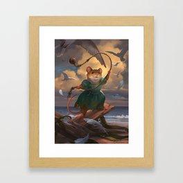 Mariel Framed Art Print