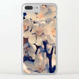 Almond bloom(3) Clear iPhone Case