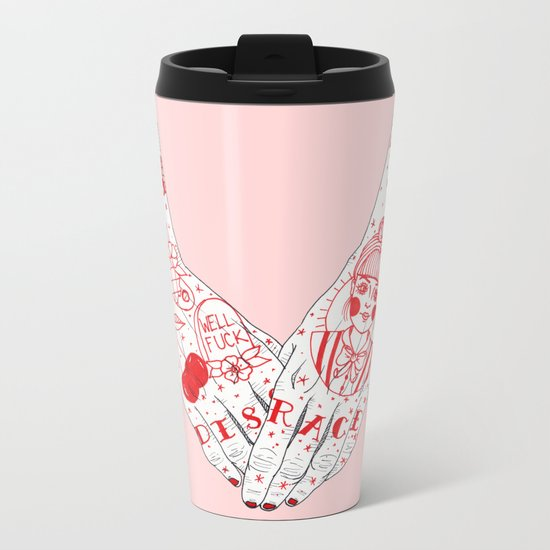 Disgrace Metal Travel Mug