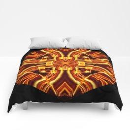 Dangerous Curves Comforters