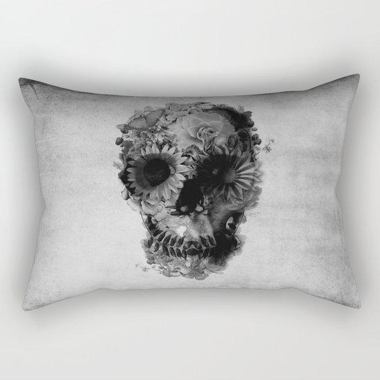 Skull 2 / BW Rectangular Pillow