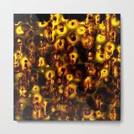 Festive Lanterns Metal Print
