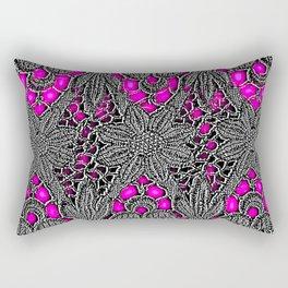 Electro Lace Rectangular Pillow